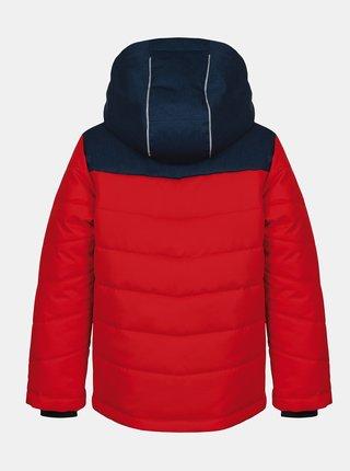 Červená klučičí zimní bunda Hannah Jakna