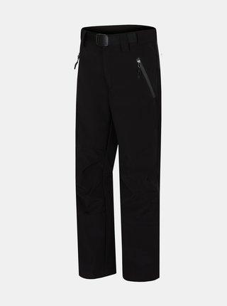 Čierne chlapčenské zateplené nohavice Hannah