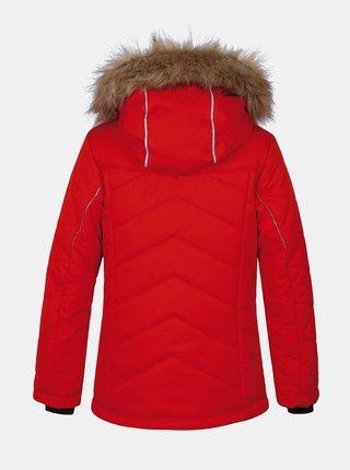 Červená klučičí zimní bunda Hannah Waca Jr