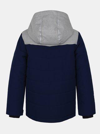 Tmavomodrá chlapčenská zimná bunda Hannah