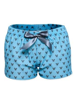 Slippsy modré dámské trenýrky Mickey