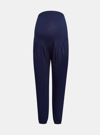 Tmavě modré těhotenské kalhoty Dorothy Perkins Maternity