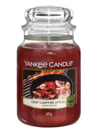 Yankee Candle vonná svíčka Crisp Campfire Apples Classic velká