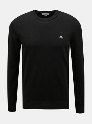 Čierny pánsky sveter Lacoste