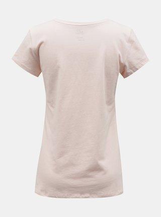 Růžové dámské tričko Hannah Julia