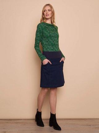 Tmavě modrá džínová sukně Tranquillo