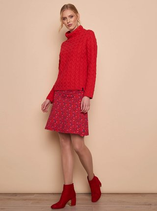 Červený dámsky sveter Tranquillo