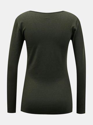 Khaki basic tričko ONLY