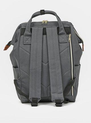 Šedý batoh Anello 18 l