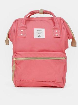Růžový batoh Anello 18 l