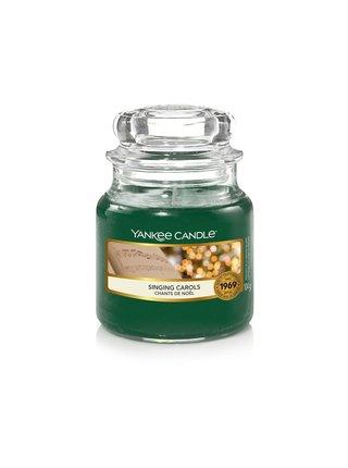 Yankee Candle vonná svíčka Singing Carols Classic malá