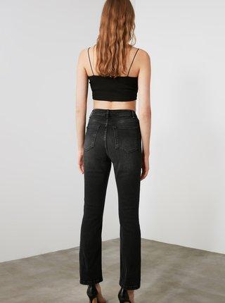 Černé bootcut džíny Trendyol