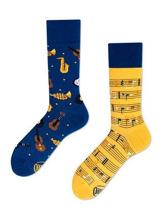 Many Mornings ponožky Music Notes