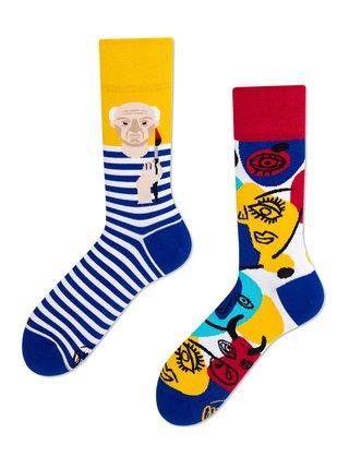 Many Mornings barevné ponožky Picassocks