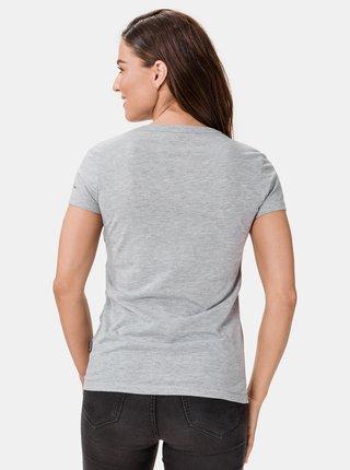 Světle šedé dámské tričko s potiskem SAM 73 Penny