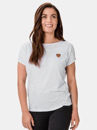 Bílé dámské vzorované tričko SAM 73 Tracey