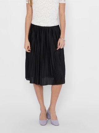 Černá plisovaná sukně Jacqueline de Yong