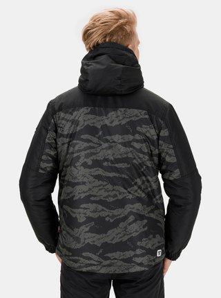 Čierna pánska maskáčová zimná bunda SAM 73