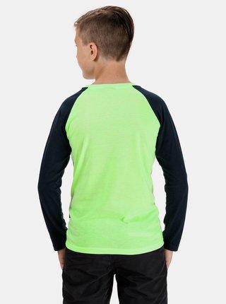 Zelené chlapčenské tričko s potlačou SAM 73