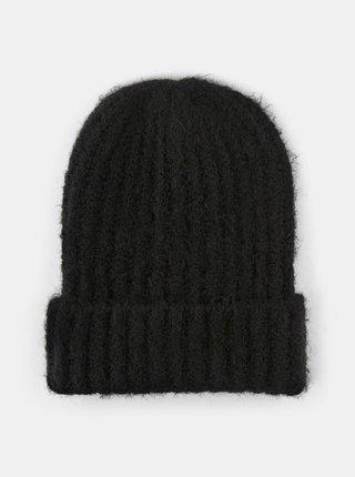 Čierna čiapka Pieces Pyron