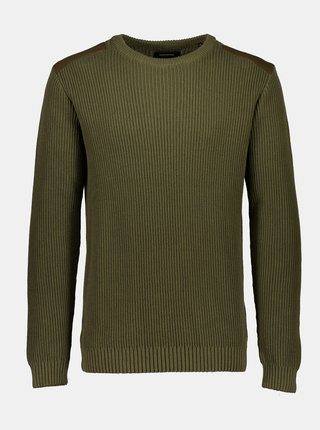 Khaki svetr Shine Original