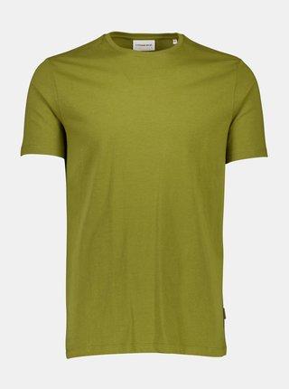 Khaki basic tričko Lindbergh