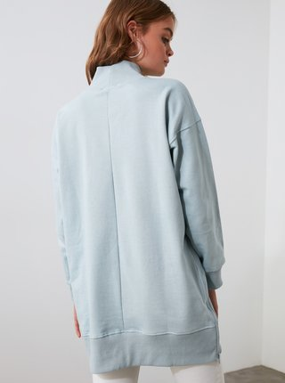 Světle modrý svetr Trendyol