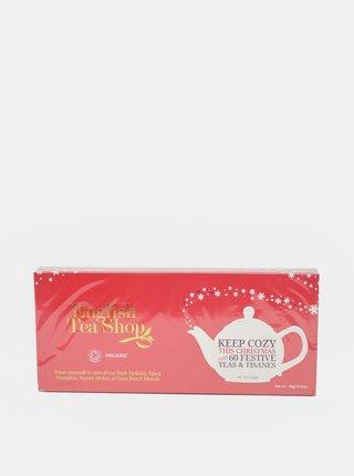 Červená dárková sada čajů English Tea Shop