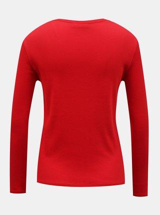 Červené dámske tričko Lacoste