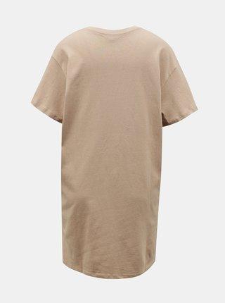 Béžové šaty Miss Selfridge