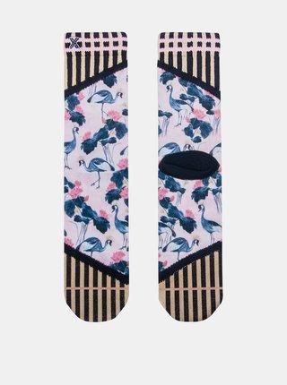 Ružovo-modré dámske ponožky XPOOOS