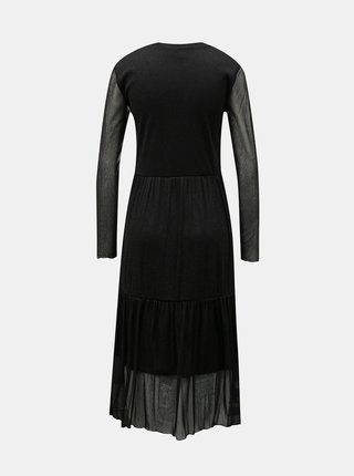 Čierne šaty VERO MODA Aurora