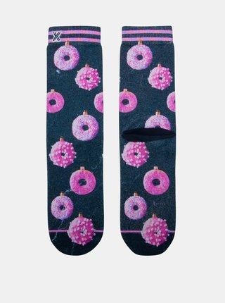 Modro-ružové dámske ponožky XPOOOS