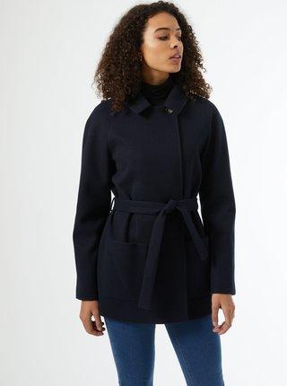 Tmavomodrý zimný krátky kabát Dorothy Perkins Tall