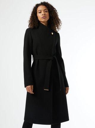 Černý zimní kabát Dorothy Perkins Tall