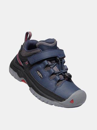 Modré klučičí zimní boty Keen Targhee