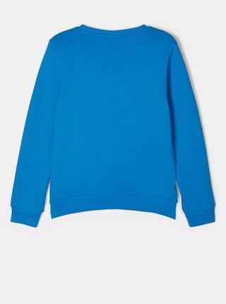 Modré chlapčenké tričko s potlačou name it