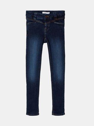 Tmavě modré holčičí skinny fit džíny name it