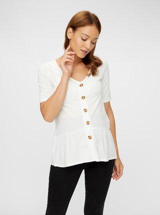 Bílé kojicí tričko Mama.licious