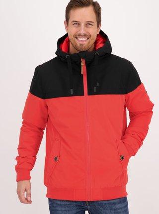 Červená pánska zimná bunda Alife and Kickin