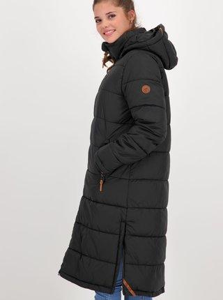 Čierny dámsky zimný kabát Alife and Kickin