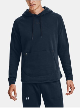 Mikina Under Armour Charged Cotton Fleece HD - tmavě modrá