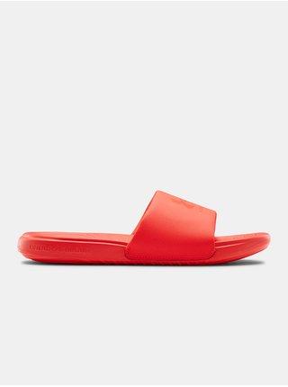 Pantofle Under Armour M Ansa Fix SL - červená