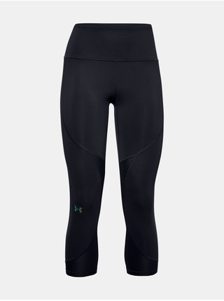 Legíny Under Armour UA Rush Side Piping Crop - Čierná