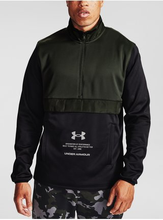 Mikina Under Armour UA AF Storm 1/2 Zip - zelená