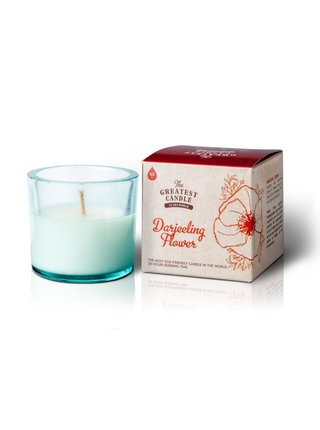 The Greatest Candle Vonná svíčka ve skle (75 g) - květ darjeelingu