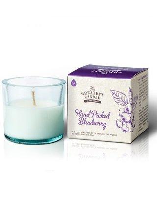 The Greatest Candle Vonná svíčka ve skle (75 g) - borůvky