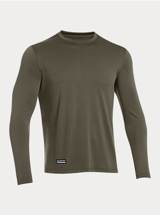 Tričko Under Armour TAC Tech LS T - khaki