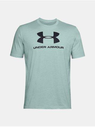 Tričko Under Armour UA SPORTSTYLE LOGO SS -světle modré