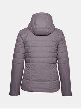 Bunda Under Armour UA Armour Insulated Hooded Jkt - svetlofialová